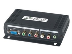 AV-BOX SC238AD (AV-HVY01-2)-Преобразователь HDMI сигнала в VGA, YPbPr + цифровой звук. - фото 54698