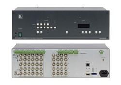 Kramer VP-64ETH- Коммутатор 6х4 cигналов RGBHV и балансных звуковых стереосигналов - фото 54701