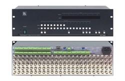 Kramer-VP-1608-Коммутатор 16x8 сигналов RGBHV и балансных звуковых стереосигналов с регулировкой аудио по выходу - фото 54703