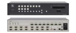 Kramer-VP-4x8AK-Коммутатор 4х8 VGA и звукового стереосигнала с регулировкой аудио по входу и выходу и системой KR-ISP™ - фото 54708