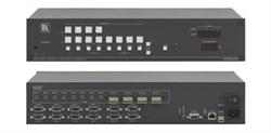 kramer-VP-8x4AK-Коммутатор 8х4 VGA и звукового стереосигнала с регулировкой аудио по входу и выходу и системой KR-ISP™ - фото 54709