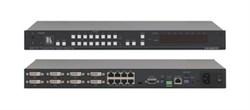 Kramer VS-88DTP-Коммутатор 8x8 DVI с выходами в кабель витой пары(DGKat) - фото 54719