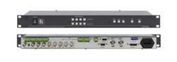 Kramer VS-402xl-Коммутатор 4x2 видео- и балансных звуковых стереосигналов (с переключением по КГИ), 300 МГц - фото 54733