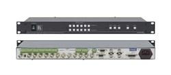 Kramer VS-602xl-Коммутатор 6x2 видео- и балансных звуковых стереосигналов (с переключением по КГИ), 300 МГц - фото 54734