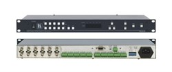 Kramer VS-5x5-Коммутатор 5x5 композитных видео- и балансных звуковых стереосигналов (с переключением по КГИ), регулировка уровня звука, 70 МГц - фото 54738