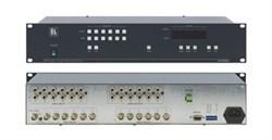 Kramer VS-606xl-Коммутатор 6x6 видео- и звуковых стереосигналов (с переключением по КГИ), 200 МГц - фото 54739
