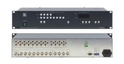 Kramer VS-804xl-Коммутатор 8x4 видео- и звуковых стереосигналов (с переключением по КГИ), 200 МГц - фото 54740