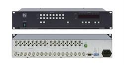 Kramer VS-808xl-Коммутатор 8x8 видео- и звуковых стереосигналов (с переключением по КГИ), 200 МГц - фото 54741