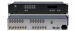 Kramer VS-626-Коммутатор 6x6 видео- и звуковых стереосигналов (с переключением по КГИ), 100 МГц - фото 54742