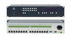 Kramer VS-808YC-Коммутатор 8х8 сигналов s-Video и балансных звуковых сигналов (с переключением по КГИ), 70 МГц - фото 54747