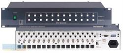 Kramer VS-1202YC-Коммутатор 12х2:2 композитного видео, s-Video и звуковых стереосигналов (с переключением по КГИ), 37 МГц - фото 54749