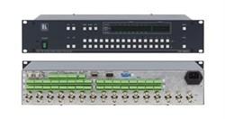 Kramer VS-162AV-Коммутатор 16x16 видео- и балансных звуковых стереосигналов (с переключением по КГИ), 90 МГц - фото 54751