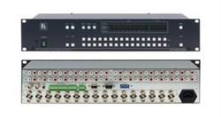 Kramer VS-162AVRCA-Коммутатор 16x16 видео- (разъемы BNC) и звуковых стереосигналов (разъемы RCA) (с переключением по КГИ), 90 МГц - фото 54758