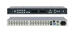 Kramer VS-44HC-Коммутатор 4х4 компонентного видео YUV и цифрового аудио SPDIF, 200 МГц - фото 54762