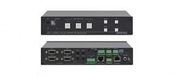 Kramer VP-31KSI-Коммутатор 3x1 VGA и небалансных звуковых стереосигналов, c технологией KR-ISP™ с пользовательским подключением входов, 440 МГц - фото 54771