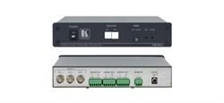 Kramer VS-24xl-Коммутатор аварийного обхода (резервного перехода) 2x1 видеосигналов и звуковых стереосигналов, 620 МГц - фото 54783