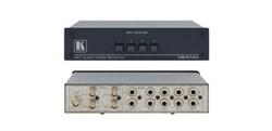 Kramer VS-41AV-Механический коммутатор 4х1 звуковых и видеосигналов, 500 МГц - фото 54784