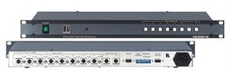 Kramer VS-2081S-Коммутатор 8x1:2 s-Video (с переключением по КГИ), 60 МГц - фото 54787