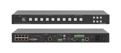 Kramer VP-81SID-Коммутатор Step-In 8x1 (10x1) цифровых сигналов по витой паре DGKat - фото 54789