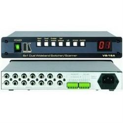 Kramer VS-16A-Коммутатор-сканер 6x1 звуковых стерео- или видеосигналов, двухканальный, 540 МГц - фото 54793