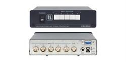 Kramer VS-55V-Коммутатор 5x1 видеосигналов (с переключением по КГИ), 150 МГц - фото 54794