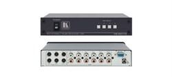 Kramer VS-401YC-Коммутатор 4x1:2 s-Video и звуковых стереосигналов - фото 54799