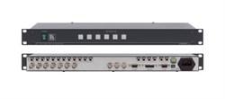 Kramer VS-601xlm-Коммутатор 6х1:3 звуковых и видеосигналов (с переключением по КГИ), 400 МГц - фото 54803