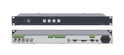Kramer VS-411-Коммутатор 4х1 композитного видео и балансного звукового стереосигнала (с переключением по КГИ), 250 МГц - фото 54804