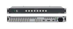 Kramer VS-801xlm-Коммутатор 8х1:3 звуковых и видеосигналов (с переключением по КГИ), 400 МГц - фото 54805