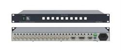 Kramer VS-1001xlm-Коммутатор 10х1:3 звуковых и видеосигналов (с переключением по КГИ), 400 МГц - фото 54806