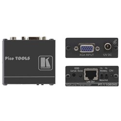 Kramer PT-110EDID-Передатчик VGA сигнала в витую пару (TP) с эмулятором источника данных EDID - фото 54812
