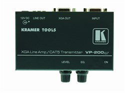 Kramer VP-200XLT-Линейный усилитель VGA, передатчик сигнала в витую пару (TP) - фото 54813