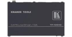 Kramer TP-105HD-Усилитель-распределитель 1:2 сигналов, передаваемых в витую пару (TP) (только для VGA) - фото 54816