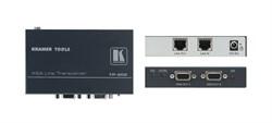 Kramer TP-202-Приемник и ретранслятор по витой паре (TP) сигналов VGA или HDTV, 2 выхода, с регулировкой уровня и АЧХ - фото 54841