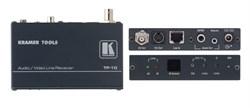 Kramer TP-10-Приемник аудио и видео сигналов и ИК-команд из витой пары (TP), с регулировкой уровня и АЧХ - фото 54875