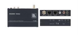 Kramer 712N-Приемник композитного видео и звукового стереосигнала из витой пары (TP) с регулировкой уровня и АЧХ - фото 54895