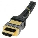Кабель соединительный HDMI (19p) - HDMI (19p), L=1.5м gold  Version :  HDMI 1.4 - фото 54925