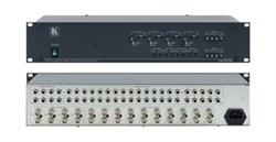 Kramer VM-20ARII-Усилитель-распределитель 1:20 видео- и звуковых стереосигналов c регулировкой уровня и АЧХ, 430 МГц - фото 54941