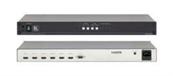 Kramer VM-24H-Усилитель-распределитель 1:4 сигнала HDMI с коммутатором 2x1 - фото 54955