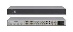 Kramer VM-73-Мультиформатный усилитель-распределитель 1:3  CV / YC / YUV / VGA / HDMI, 405 МГц - фото 54958