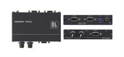 Kramer VP-210K-Линейный усилитель 1:1 VGA с регулировкой уровня и АЧХ, 350 МГц  c технологией KR-ISP™ - фото 54959
