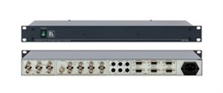 Kramer VP-72-Мультиформатный усилитель-распределитель 1:2  2xCV / 2xYC / YUV / 2xVGA, 500 МГц - фото 54965