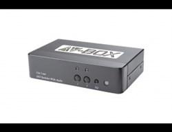 AV-BOX SW1-21 (AV-DS02-2) Коммутатор DVI, 2 вх. 1 вых - фото 55368