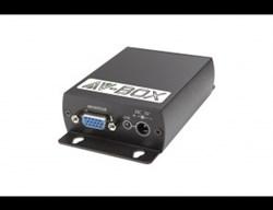 AV-BOX 3TP-300RT (AV-VE01-2) Комплект приемник + передатчик удлинителя сигнала VGA по витой паре - фото 55372