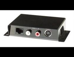 AV-BOX 5TP-300RTAA (AV-SE01A) Пассивный комплект приемник + передатчик передачи сигнала s-video + стереозвук - фото 55374