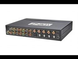 AV-BOX DA814AD (AV-YD04D-2) Усилитель распределитель, 1вх. 4 вых. Y-Pb-Pr видеосигнала + цифровой звук - фото 55384