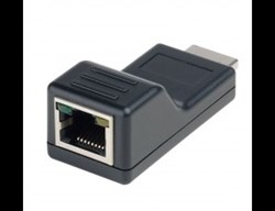 AV-BOX 2TP-30RT (AV-HE01SE-2) Комплект передачи приемник + передатчик HDMI по одному кабелю CAT5 - фото 55386