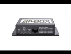 AV-BOX 6TP2-300RTAA (AV-CE02A) - Пассивный комплект приемник + передатчик композитного видеосигнала - фото 55404