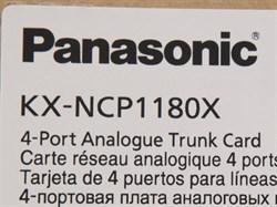 KX-NCP1180X - Плата расширения 4 внешних аналоговых линии - фото 55519