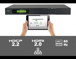 AV-BOX MUH44A-H2 Матричный HDMI коммутатор 4 вх., 4 вых., 4K@60Hz 4:4:4 - фото 55568